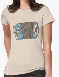 Blue Russian Bayan Womens Fitted T-Shirt