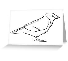 A flock of crows Greeting Card