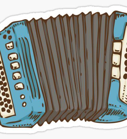 Blue Russian Bayan Sticker