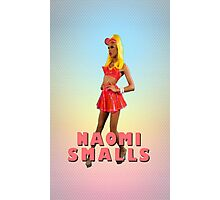 Naomi Smalls Neon Look Photographic Print
