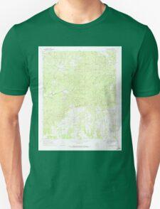 USGS TOPO Map Arkansas AR Center Point 258165 1970 24000 Unisex T-Shirt