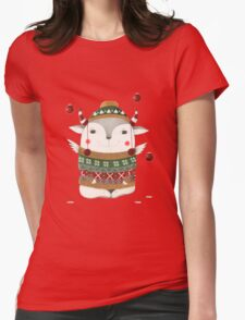 Merry X-Mas Womens Fitted T-Shirt