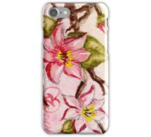 flowering tree branch iPhone Case/Skin