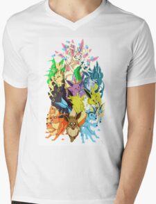Eeveelutions Mens V-Neck T-Shirt