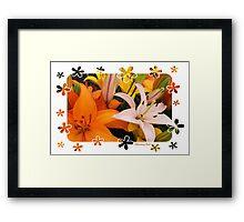 Memories of Spring ~ Lilies Framed Print