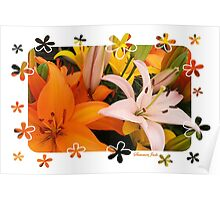 Memories of Spring ~ Lilies Poster