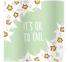 It's OK to Fail Poster