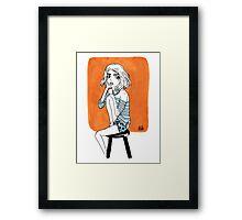Orange Sweet Framed Print