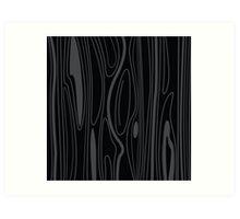 Black wood background texture. wood background design. Wooden texture element. Art Print