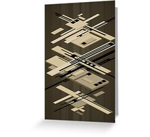 abstract vector - Superposition - Greeting Card