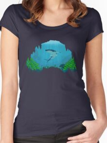 Great White Sharks Women's Fitted Scoop T-Shirt