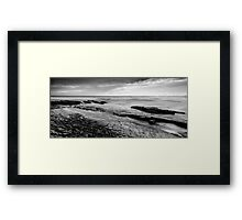 Dark Coast Framed Print