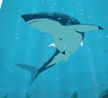 Great White Sharks Sticker
