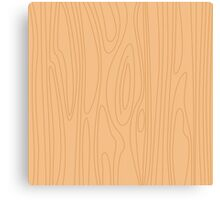 Natural beige wood background. Pine wood texture. Canvas Print