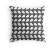 confused ghosts Throw Pillow