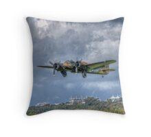 Bristol Blenheim at Goodwood Throw Pillow