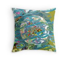 Kite Tails Throw Pillow