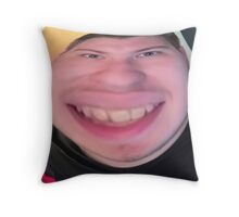 Scarce is fat  Throw Pillow