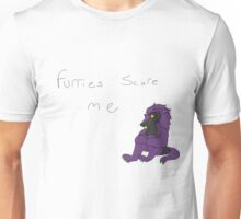 furries scare me Unisex T-Shirt
