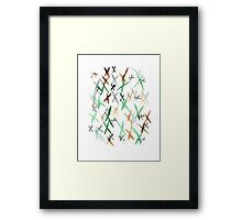 no 30 Framed Print