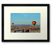 Lake Havasu Balloon Festival 2014 Framed Print