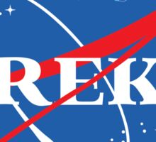 NASA Trek Sticker