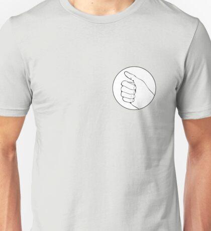 the half thumbs up Unisex T-Shirt
