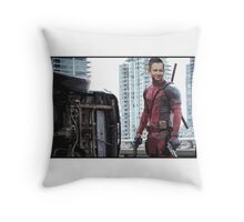 Michael 'Deadpool' Turnbull Throw Pillow