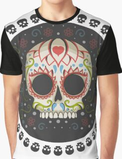 Mexican Skull Graphic T-Shirt