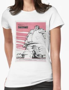 Vintage poster - Falstaff Womens Fitted T-Shirt