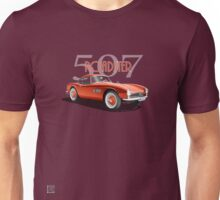 1955 BMW 507 Roadster - Red Unisex T-Shirt