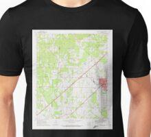 USGS TOPO Map Arkansas AR Prescott West 259456 1970 24000 Unisex T-Shirt