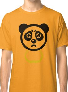 Panda with Gold Chain Tshirt Classic T-Shirt