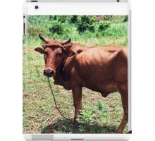 Young Bull, Jinja Uganda iPad Case/Skin
