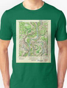 USGS TOPO Map Arkansas AR Readland 260265 1939 62500 Unisex T-Shirt