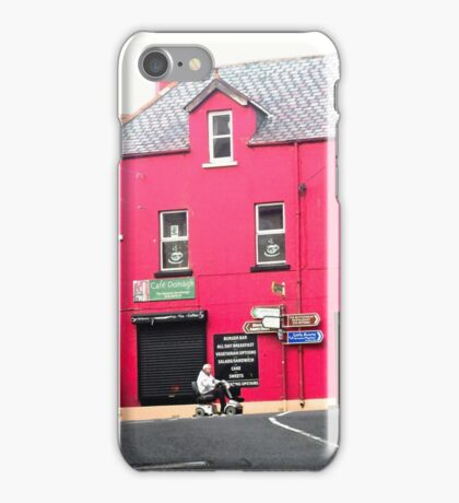Cafe Donagh, Carndonagh, Donegal, Ireland iPhone Case/Skin