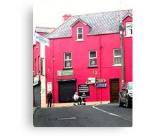 Cafe Donagh, Carndonagh, Donegal, Ireland Canvas Print