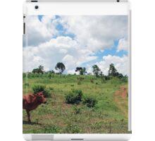 Young Bull, Jinja, Uganda iPad Case/Skin