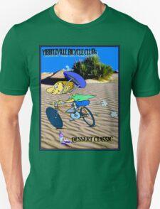 BICYCLE FANTASY; Dessert Classic Race Poster Unisex T-Shirt