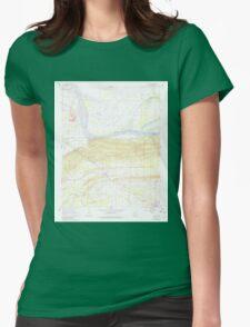 USGS TOPO Map Arkansas AR Houston 258776 1961 24000 Womens Fitted T-Shirt