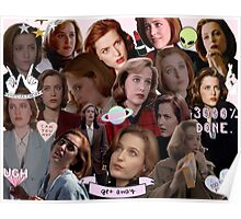Queen Scully Poster