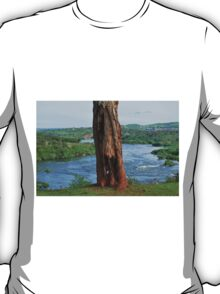 Tree Along White Nile River, Jinja, Uganda T-Shirt
