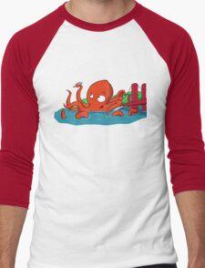 Happy Bath Time Fun Men's Baseball ¾ T-Shirt