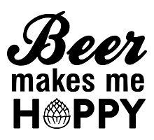 Beer makes me hoppy Photographic Print