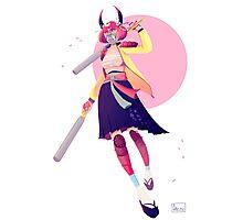 Pastel Samurai Photographic Print
