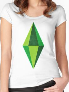The Sims Women's Fitted Scoop T-Shirt