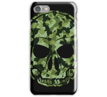 Camouflage Skull MMJ iPhone Case/Skin