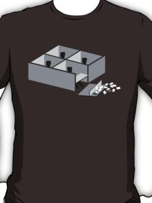 Minimalist Office Space T-Shirt