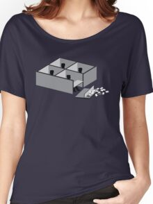 Minimalist Office Space Women's Relaxed Fit T-Shirt