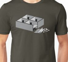 Minimalist Office Space Unisex T-Shirt